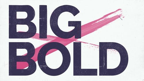 Big Bold Stomp Titles