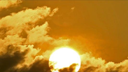 Thumbnail for Morning Sun Behind Cloud 2