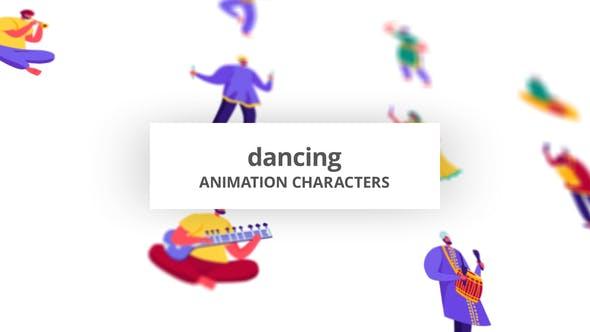 Dancing - Character Set