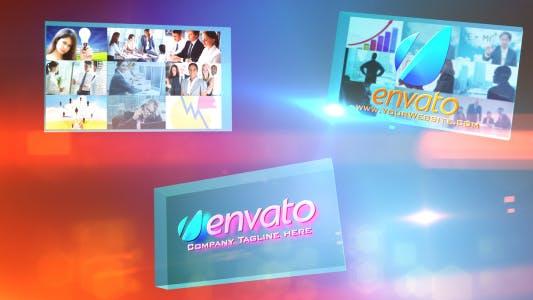 Thumbnail for Multi Video Corporate Presentations Logo Opener