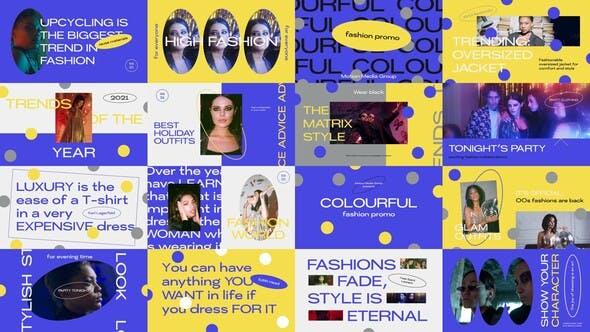 Thumbnail for Promo mode coloré
