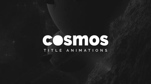 Cosmos - Title Animations   for Premiere Pro