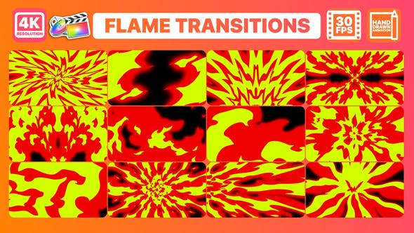 Thumbnail for Flame Transitions | FCPX