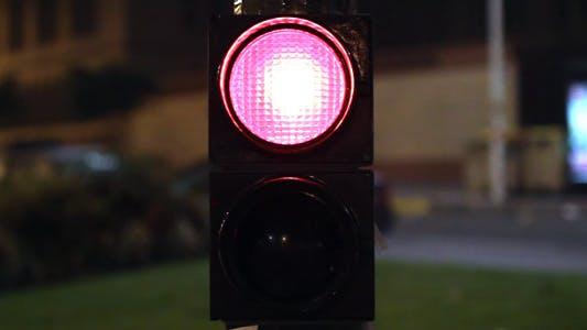 Thumbnail for Traffic Lights At Night 01