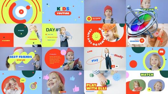 Kid's YouTube Vlog