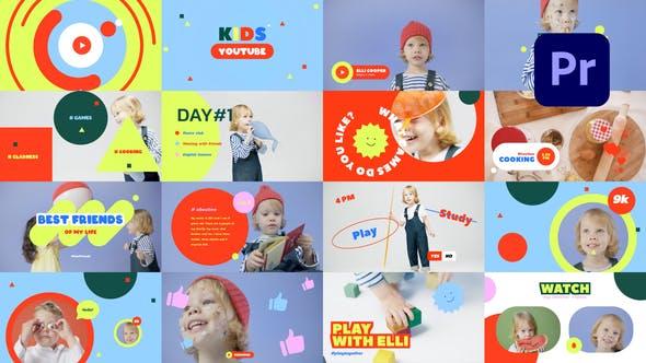 YouTube Vlog para niños