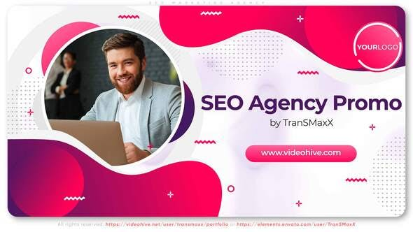 Thumbnail for SEO Marketing Agency Promotion