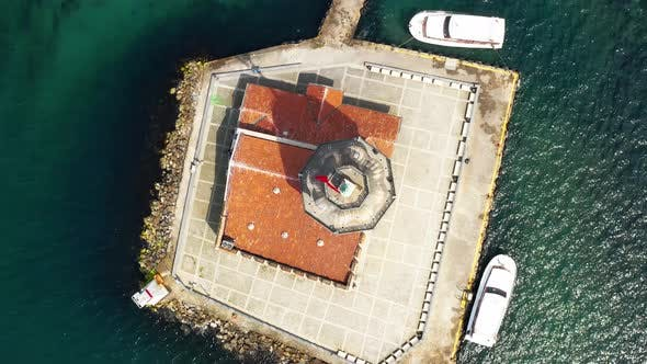 The Maiden's Tower Aerial View