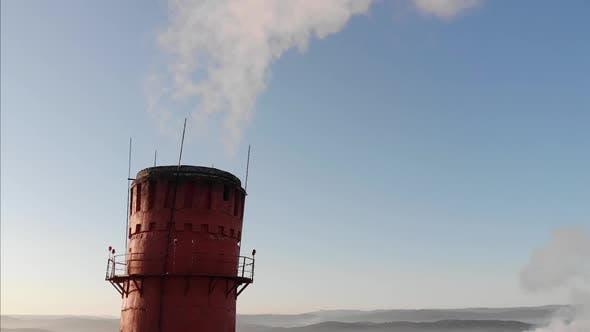 Thumbnail for Epic Shot on High Smoke Chimneys