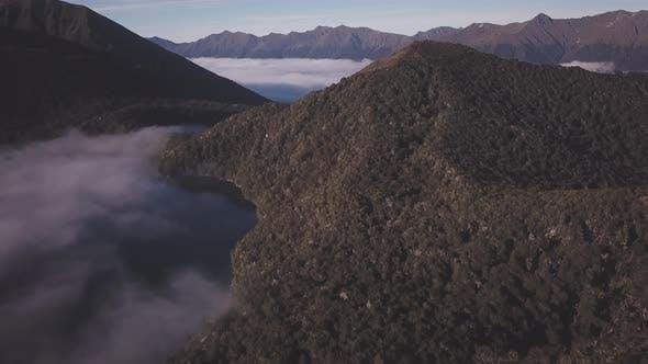 Mountainous landscape of New Zealand