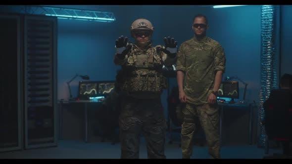 Thumbnail for Soldat mit VR-Technologie