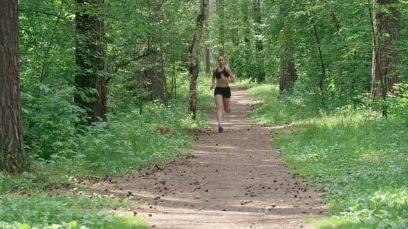 Thumbnail for Running in Nature