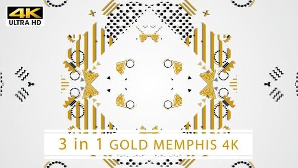 Thumbnail for Gold Memphis 4K (Weiß)