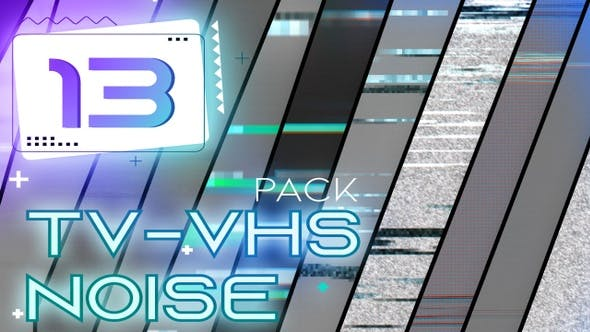 Thumbnail for TV - VHS Noise and Glitch