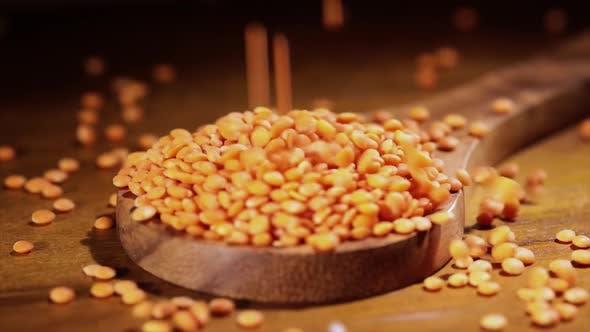 Thumbnail for Lentils Red. The Lentil (Lens Culinaris or Lens Esculenta) Is an Edible Legume