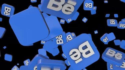 Behance Social Icon Loop