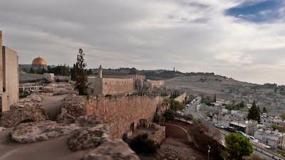 Time-lapse from the BYU Jerusalem center.