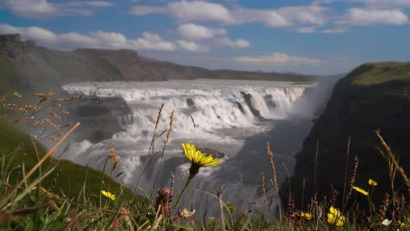 Thumbnail for Gullfoss Waterfall in Iceland