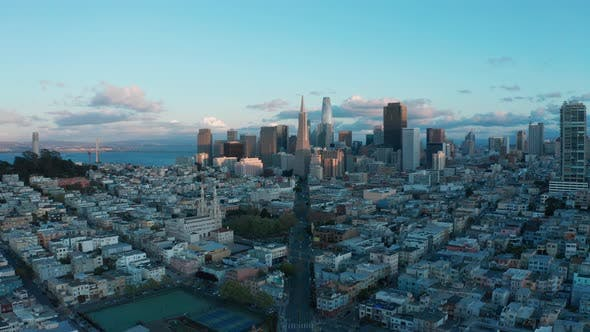 Thumbnail for 4K San Francisco Skyline