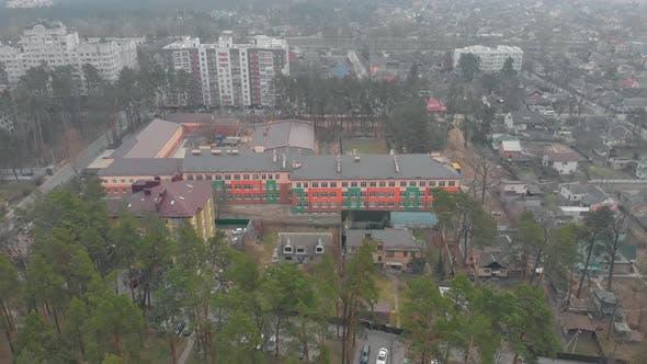Colored School Facade