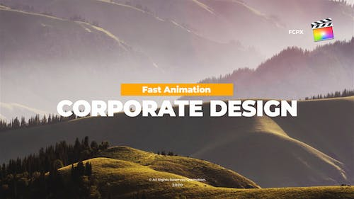 Corporate Titles Pack For FCPX