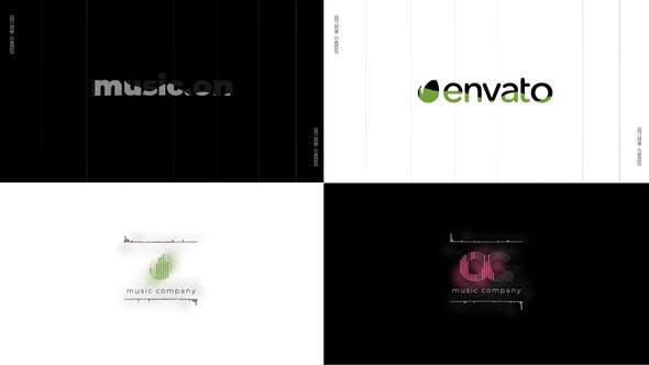 Music Logo Reveal visualizer