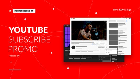 Youtube Subscribe Promo