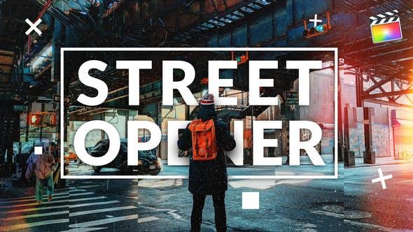 Straßenöffner | Für Final Cut & Apple Motion