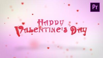 Valentine Hearts Logo Reveal