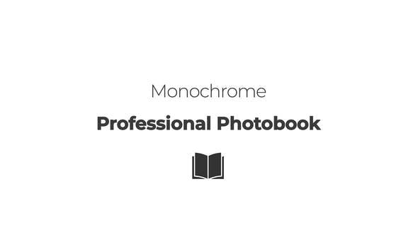 Monochrome. Professional Photobook