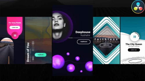 Instagram Creative Music Stories