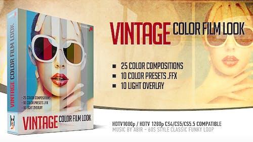 Vintage Color Film Look