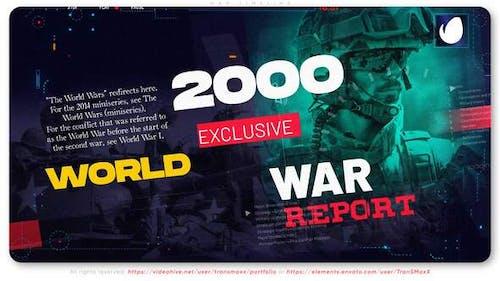 War Timeline | Report