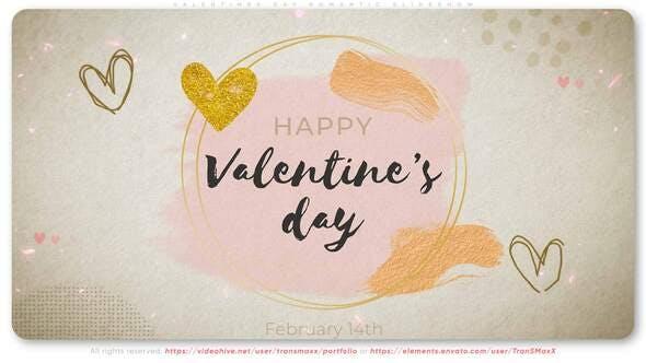Thumbnail for Valentines Day Romantic Slideshow