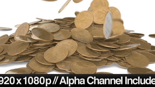 Cover Image for Gold Coins Falling into a Pile