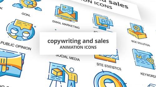 Werbetexte & Verkauf - AnimationsIcons