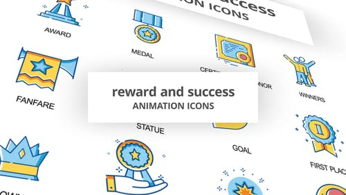 Reward & Success - Animation Icons