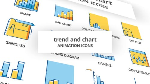 Trend & Chart - Animation Icons