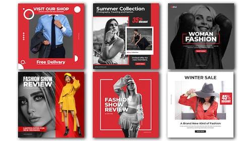 Mode-Werbepost