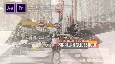 Abstract Parallax Slideshow | Opener