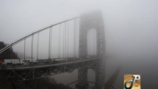 Thumbnail for Real Time Fog Washington Bridge Full HD