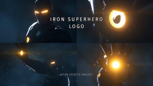 Iron Superhero Logo