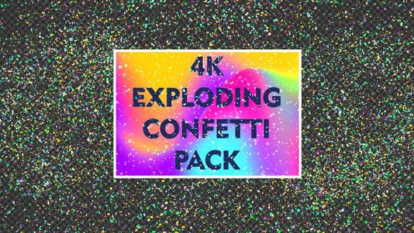 4k Exploding Confetti Pack