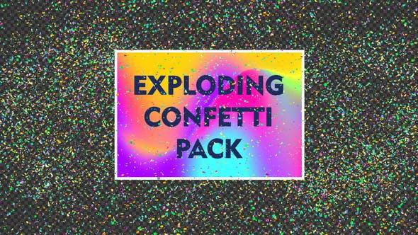 Exploding Confetti Pack