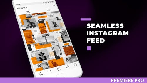 Seamless Instagram Feed for Premiere