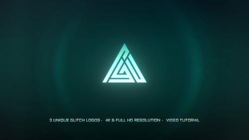Glitch Logo 3 In 1