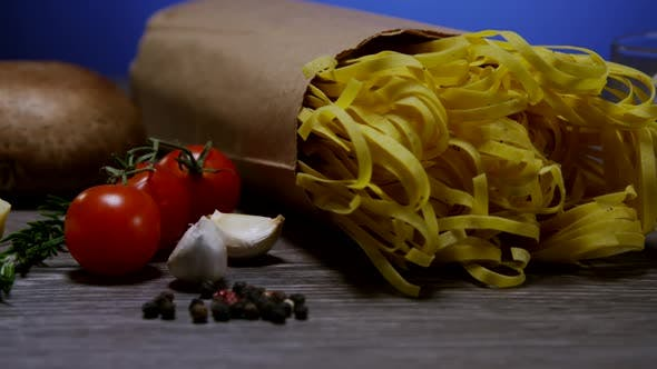 Thumbnail for Ingredients For Cooking Italian Pasta 15