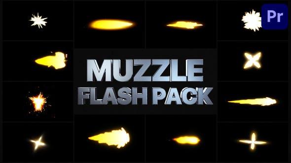 Muzzle Flash Pack 02 | Premiere Pro MOGRT