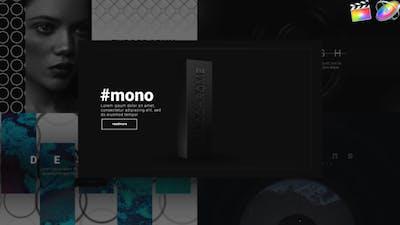 Trendy Monochrome Typography