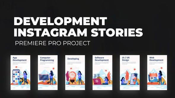 Development - Instagram Stories